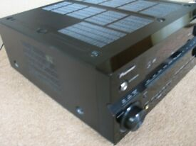 Pioneer VSX-LX50 7.1 Surround Sound Amplifier. 120 watts x 7 (8 ohms RMS).