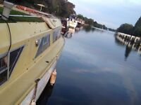 Houseboat live-aboard with new engine
