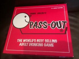 Pass out board drinking game