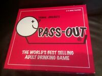 Free Pass out board drinking game