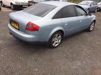 Audi A6 2.4 auto 2002 02 blue 395