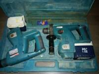 Makita BHR 24V Cordless SDS Rotary Hammer Drill