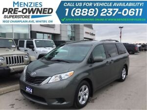 2014 Toyota Sienna LE, DVD, Cam, Bluetooth, Power Doors