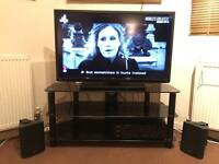 40inch Toshiba smart TV , stand And stereo