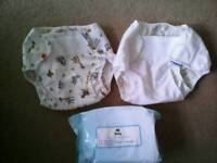 Washable Nappy bundle - good condition, no stains - 16 items