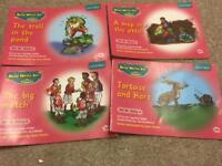 For sale Read and Write Inc set 3A of 4 pink books.