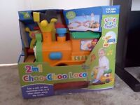 Remote Controlled 2 In 1 Choo-Choo Loco Ride On Train With Tracks Included BRAND NEW