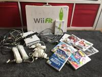 Wii Bundle - Console, Wii Fit, Various Games