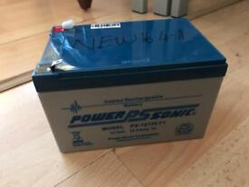 Power sonic 12V rechargeable battery