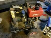 Stephill 4.7 kva diesel generator pull start Honda engine needs a service £250