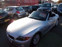 *BMW Z4*2.2i**CONVERTIBLE* IMMACULATE CONDITION*VERY LOW MILEAGE**STUNNING LOOKING SPORTS ROADSTER*