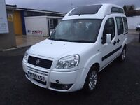 2009 FIAT DOBLO 1.9 JTD ,Disabled Mobility wheelchair access,,mot.01.18 price;£ 3790 ono PX/EXCH