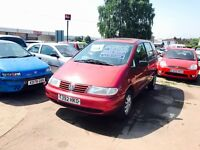 ** 1999 (T) - Volkswagen Sharan 2.0 S 7 seat 5dr Auto **