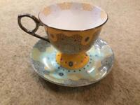 T2 Art Deco cup and saucer