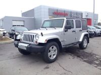 2010 Jeep WRANGLER UNLIMITED Sahara, Leather,Two Tops, New tires