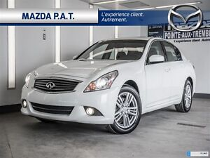 2013 Infiniti G37X LUXURY**CONDITION IMPECCABLE**