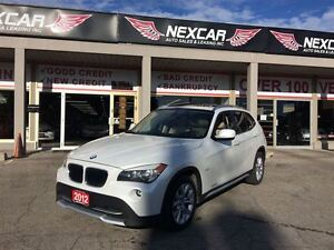 2012 BMW X1 AUT0 AWD LEATHER PANORAMIC ROOF 91K