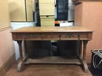 Small Solid Wood Desk/Hallway Table