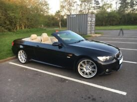 BMW 330d M-Sport Coupe-Convertible Paddleshift Auto 75k FSH, iDrive, Sat Nav, MOT April'19 HPi clear