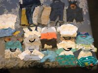 Baby boy 0-3month bundle clothes. Very good condition, smoke/pet free home