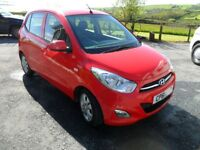 hyundai i10 low miles reduced price
