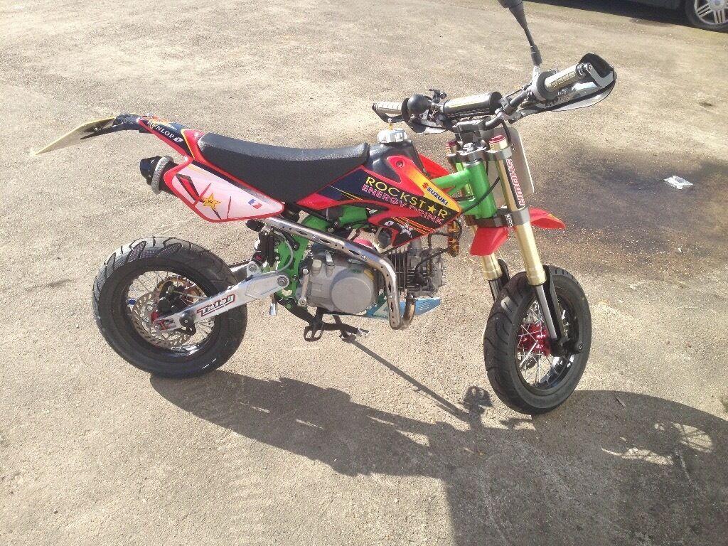 Super stomp yx140 registered as 50cc