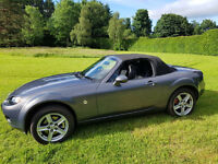 Great MX5 with distinctive and doubly special number plate - MX56DEL