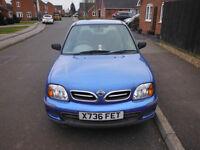 Nissan Micra, Blue X-Reg (2000) - Low Milage
