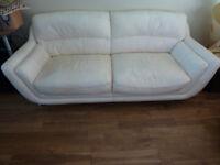 FREE 2 seater & 3 seater Leather SOFAs sofa