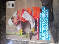 City and Guilds Level 3 2357 Electrical textbook.