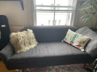 Comfortable and Beautiful Dark Gray Sofa
