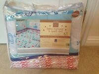 NEW cot size bumper in bag.
