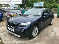FINANCE £133 PER MONTH 2010 BMW X1 SDRIVE 2.0 SE DIESEL 18D FULL HISTORY 1 YEAR MOT HPI CLEAR