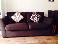 3 Seater DFS fabric sofa in excellent condition