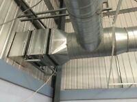 Industrial extraction Fan System/Steel Ducting/Commercial Extraction System