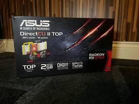 Asus Radeon R9 270x graphics card, 2gb