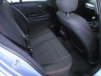 BMW 1 SERIES 116D SPORT 5DR (blue) 2014