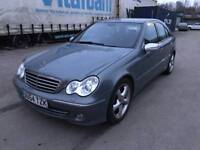 54 plate- merc benz - C class- one year mot - 2 former keeper - 11 service history stamps - Auto