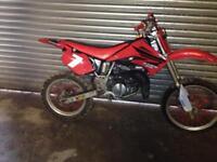 Honda cr85r motocross dirt bike