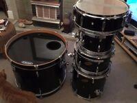 Ludwig Accent CS Custom Drum Kit (fusion sizes)