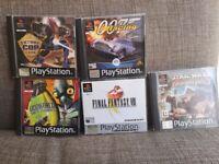 PlayStation 1 game's job lot