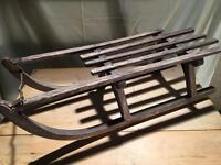 Vintage Child's Sledge / Sled / Sleigh. Winter is coming!