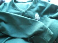 Celtic jumper dark green