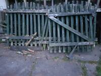 Old Fencing Wood ideal for fire wood
