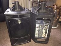 YAMAHA STAGEPAS 300 WT portable PA system
