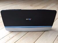 BT HOME HUB 5 TYPE A WITH MICROFILTER CABLES ETC AS NEW