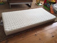 John Lewis Premium Foam baby cot mattress, 120 x 60cm