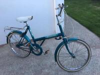 Raleigh nova shopper, retro, classic bike.