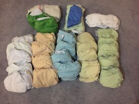 Reusable nappy bundle 30+ in excellent condition