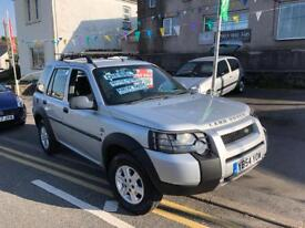 2005 54 new shape Land Rover freelander TD4, Diesel immaculate 4x4